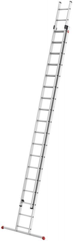 Výsuvný žebřík Hailo profi 2x18 příček