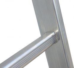 Jednodílný hliníkový žebřík FACAL hobby 10 příček II.jakost