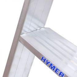Hliníkové schůdky HYMER 8026 10 nášlapů