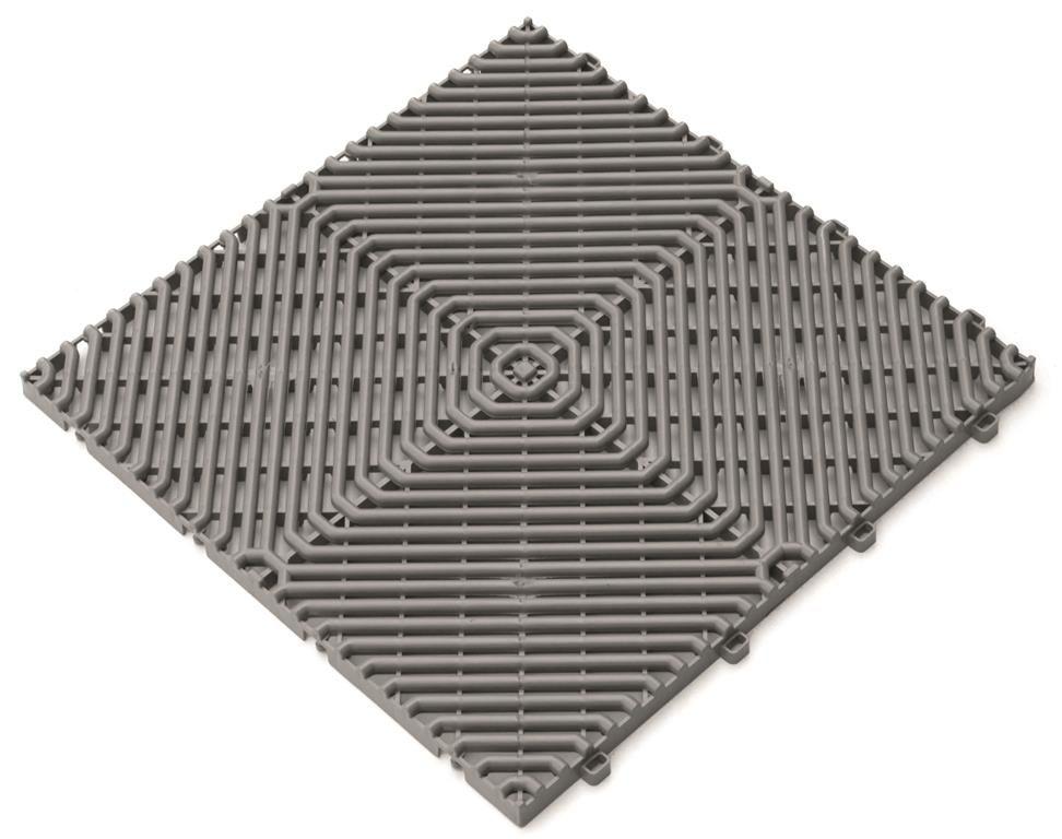 Dlažba Rombo - šedá 385 x 385 mm