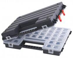 Dvoudílný plastový organizér PATROL B 400 TWIN