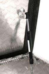 Hliníkový přepravní box z rýhovaného plechu s plynovým pístem Metalconstruct