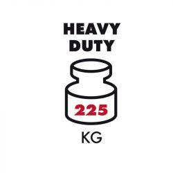 Hliníkové schůdky HAILO XXR nosnost 225 kg 2+1 typ 8893-027