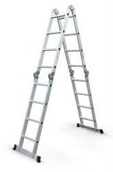 Kloubový žebřík G21 4x4 příčky vč. podlážky