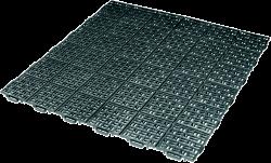 Plastová rohož  Marte 563x563 mm - zelená