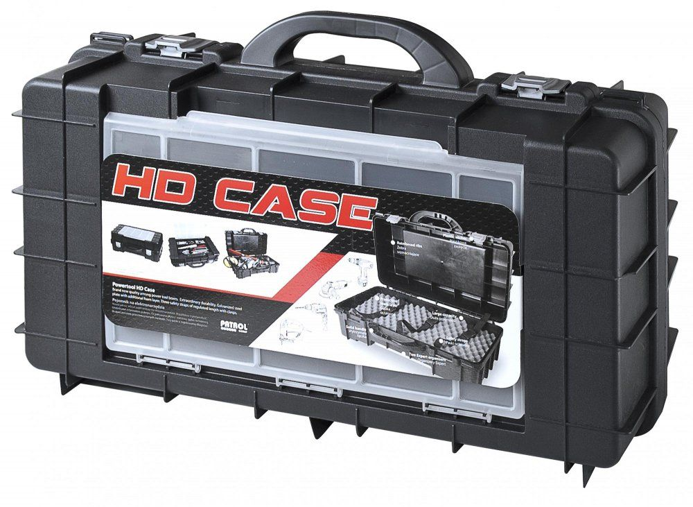 Plastový kufr PATROL HD CASE CARBO na elektro-zařízení