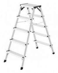Hliníkové štafle Hailo D60 StandardLine 2x5